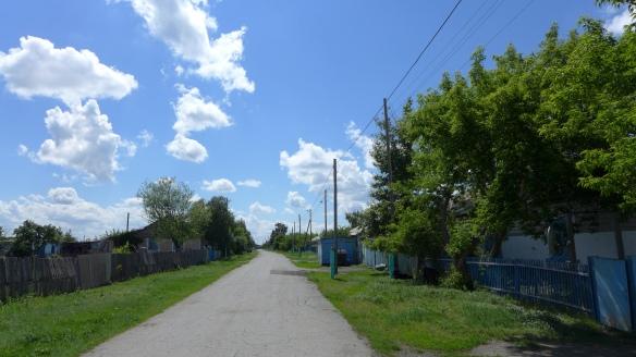Dorfstrasse_Kasachstan