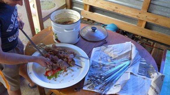 Schaschlik_Schlachtfest_Kasachstan