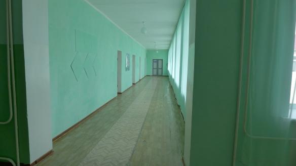 Korridor Mittelschule Nowo-Iljinowka, Kasachstan