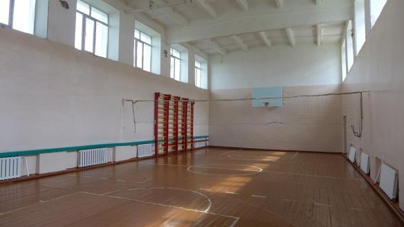 Turnhalle Mittelschule Nowo-Iljinowka, Kasachstan