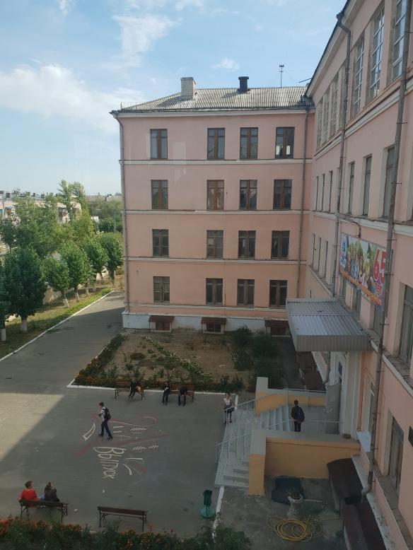 Schule Nummer 1, Volzhskiy, Russland