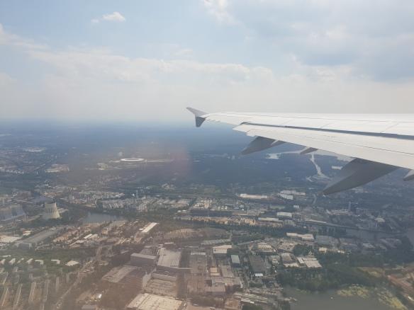 Anflug auf Peking