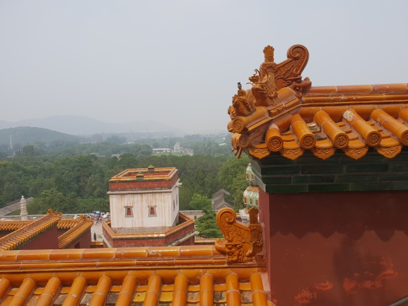 Blick über Palastdächer