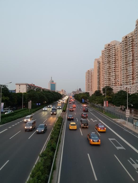 Die Straßen von Peking