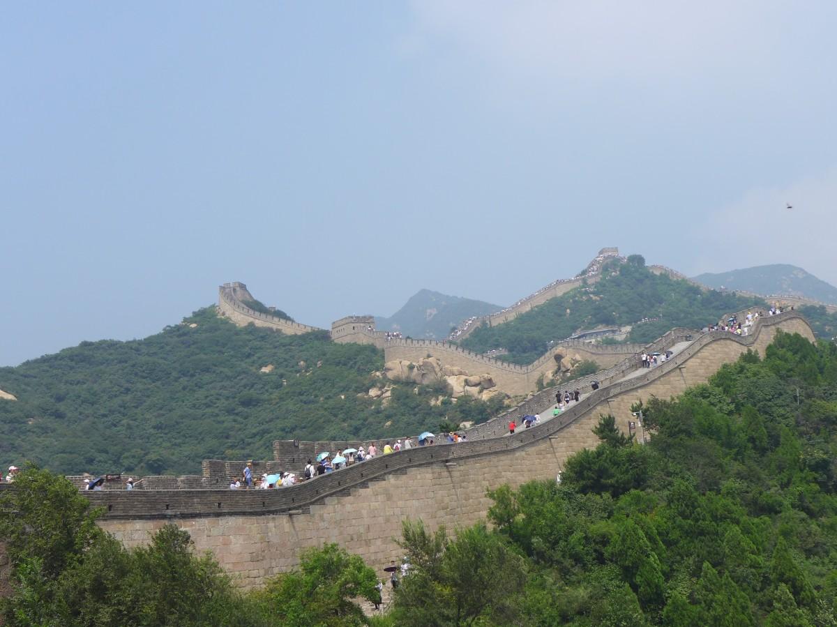 Chinesische Touristen sind überall, China Teil 7